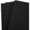 "Foam Sheet (Eva) 9""x12'' Black - Pack of 10 pieces"